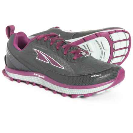 Altra Superior 3.5 Trail Running Shoes (For Women) in Gray/Purple - Closeouts