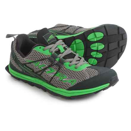 Altra Superior Trail Running Shoes (For Men) in Gray/Green - Closeouts