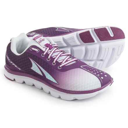 Altra The One Squared Running Shoes (For Women) in Purple/Gray - Closeouts