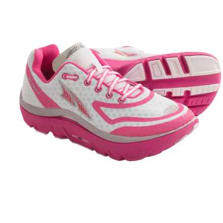 Altra The Paradigm Running Shoes (For Women) in White/Pink - Closeouts
