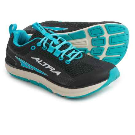 Altra Torin Running Shoes (For Women) in Black/Scuba Blue - Closeouts