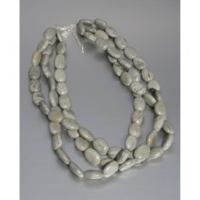 Aluma USA Jasper Necklace - Multi-Strand in Jasper - Closeouts