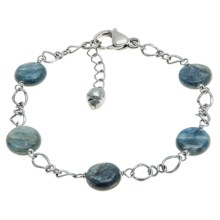 Aluma USA Kyanite Bracelet in Kyanite/Stainless - Closeouts