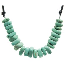 Aluma USA Magnesite Necklace in Magnesite/Stainless Steel - Closeouts