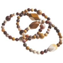 Aluma USA Mookaite Bracelet Set - 3-Piece in Mookaite - Closeouts