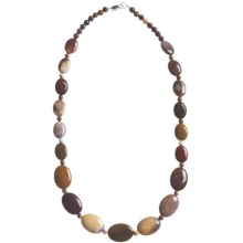 Aluma USA Mookaite Jasper Necklace in Mookaite - Closeouts