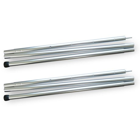 Image of Aluminum Adjustable Tarp Pole Set - 2-Piece