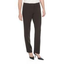 Amanda + Chelsea Narrow Leg Dress Pants (For Women) in Brown - Closeouts