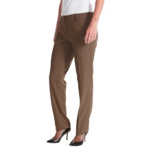 Amanda + Chelsea Narrow-Leg Pants (For Women) in Camel - Closeouts