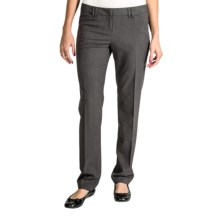 Amanda + Chelsea Narrow Leg Pants (For Women) in Gravel - Closeouts