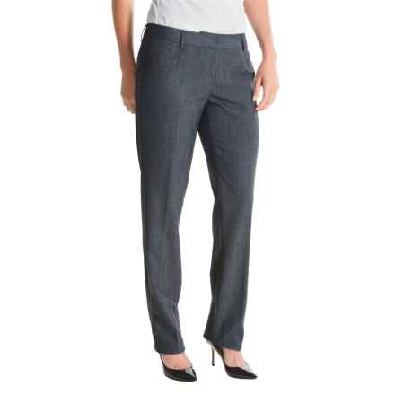Amanda + Chelsea Narrow-Leg Pants (For Women) in Navy - Closeouts
