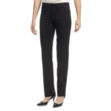 Amanda + Chelsea Ponte Baby Boot Pants - Low Rise (For Women) in Black - Closeouts