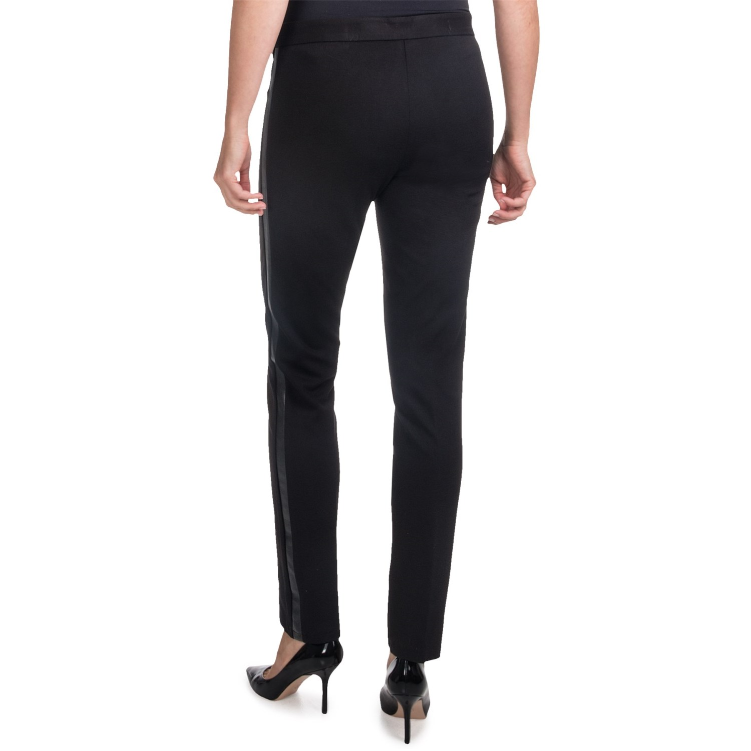 Plus size ponte skinny pants