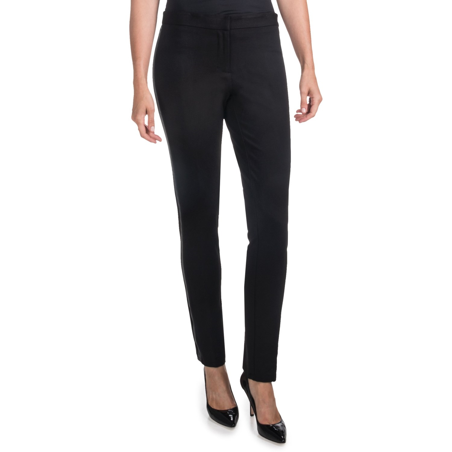 Popular Hit The Town In Sleek, Sexy Pants That Easily Make The Transition From Lunch Meeting To Happy Hour Smooth, Extreme Stretch Fabric Feels Luxurious Against Your Skin, While A Closetothebody Fit Streamlines Your Silhouette