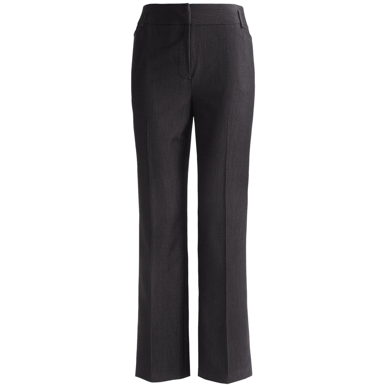 Women'S Plus Size Grey Dress Pants 6
