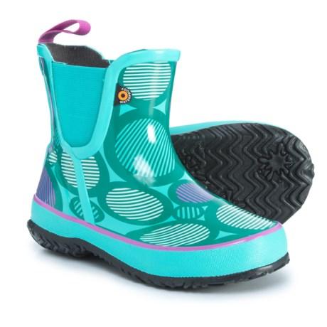 Image of Amanda Dot Ankle Rain Boots - Waterproof (For Girls)