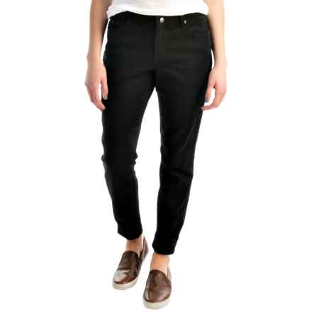 Amanda Five-Pocket Denim Jeans (For Women) in Black - 2nds