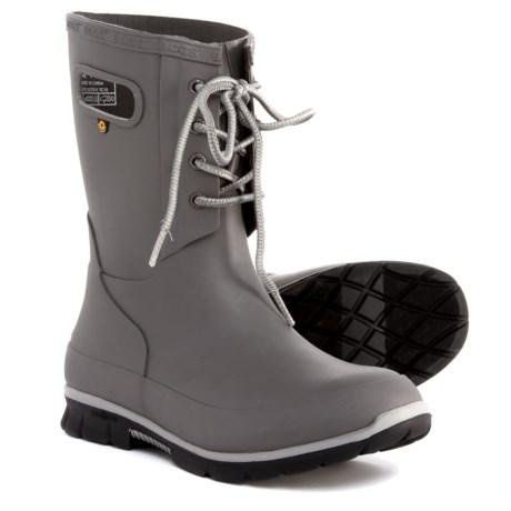 Image of Amanda Lace Rain Boots - Waterproof (For Women)