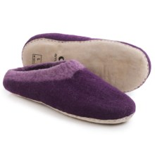 Ambler Mountain Wool Slippers (For Men and Women) in Orchid - Closeouts