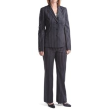 Amelia Austin Broken Stripe Pantsuit (For Women) in Mezanotte - Closeouts