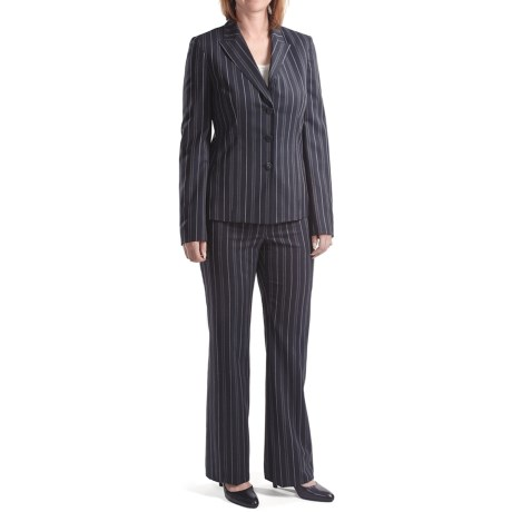 Amelia Austin Broken Stripe Pantsuit (For Women) in Mezanotte