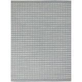 Amer Loft Collection Sea Foam Scatter Accent Rug - 3x5', Wool-Cotton