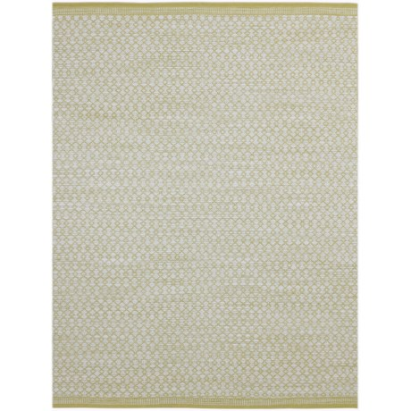 Amer Loft Collection Yellow Scatter Rug - 3x5', Wool-Cotton in Yellow