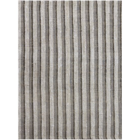 Amer Tropics Collection Gray Scatter Accent Rug - 3x5', Jute in Gray