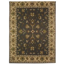 Amer Tuscany Area Rug - 8x10', Wool-Cotton in Grey/Beige - Closeouts