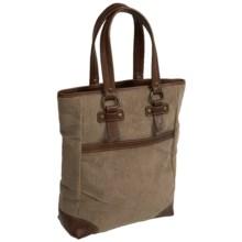 AmeriBag® Browning Bozeman Corduroy Tote Bag (For Women) in Brown - Closeouts