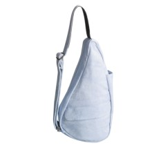 AmeriBag® Canvas Healthy Back Bag® - Extra Small in Dolphin Blue - Closeouts