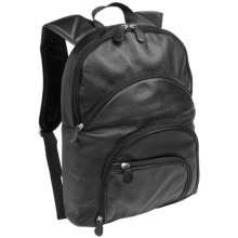 AmeriBag® Catskill Highpoint Backpack - Healthy Back Bag®, Leather in Black - Closeouts