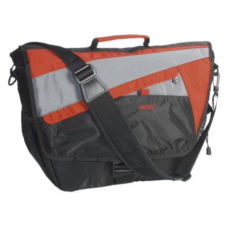 Ameribag® HelixX Messenger Bag with Laptop Sleeve in Terracotta