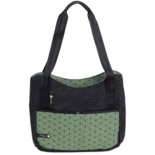 "AmeriBag® Jazzmin Computer Tote Bag - Up to 13"" Laptop (For Women) in Green - Closeouts"