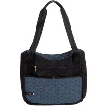 "AmeriBag® Jazzmin Computer Tote Bag - Up to 13"" Laptop (For Women) in Horizon Blue - Closeouts"