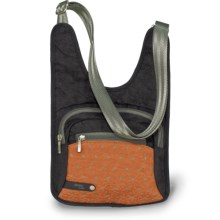 AmeriBag® Jazzmin Cross-Body Bag in Orange - Closeouts