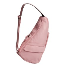 AmeriBag® Leather Healthy Back Bag® - Extra Small in Blush - Closeouts