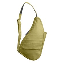 AmeriBag® Poly-Suede Healthy Back Bag® - Extra-Small in Olive - Closeouts