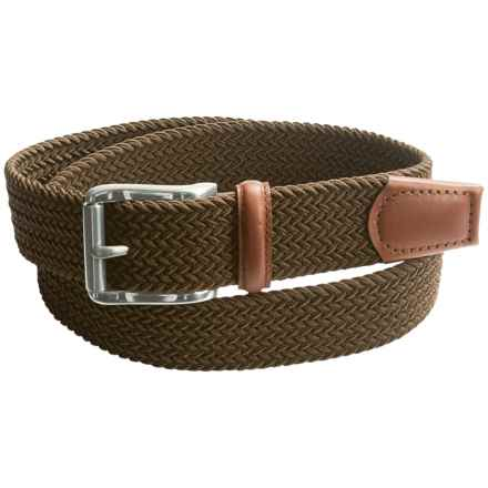 American Accessories Web Belt (For Men) in Brown - Closeouts