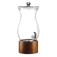 American Atelier Madera Glass Beverage Dispenser - 1.5 Gal in See Photo - Closeouts