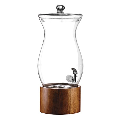 American Atelier Madera Glass Beverage Dispenser 1.5 Gal