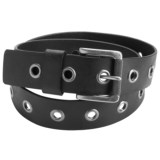 American Beltway Single-Prong Leather Belt (For Men)