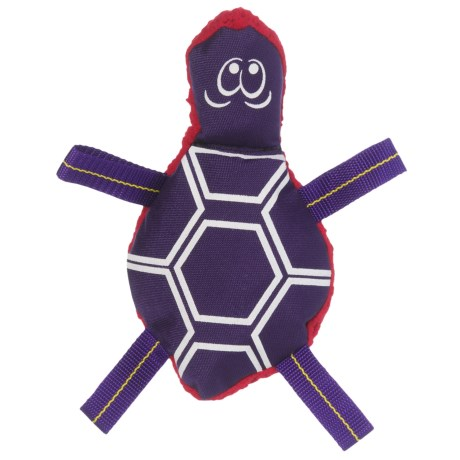 American Dog Tommy Turtle Dog Toy - Large in Purple