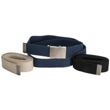 American Endurance 3-in-1 Woven Belt Pack (For Men and Women) in Blue/Tan/Black - Closeouts