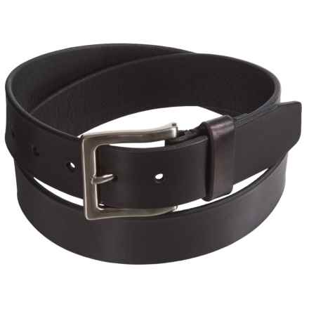 American Endurance Heritage Leather Belt (For Men) in Black - Closeouts