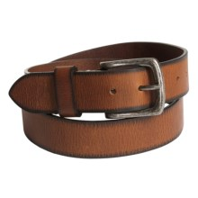 American Endurance Leather Belt (For Men) in Tan Burnished - Closeouts