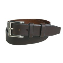 American Endurance Leather Belt - Nickel Buckle (For Men) in Brown - Closeouts