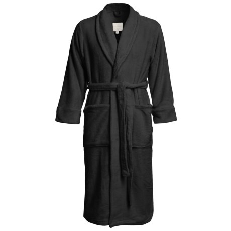 American Essentials Luxury Spa Robe (For Men) in Black