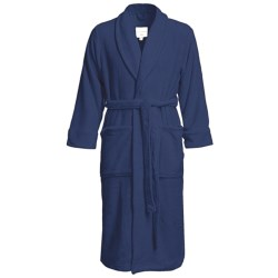 American Essentials Luxury Spa Robe (For Men) in Navy