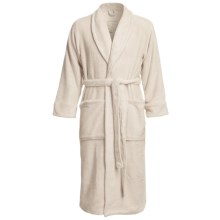American Essentials Luxury Spa Robe (For Men) in Sand - Closeouts